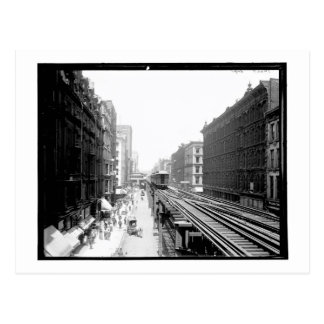 Wabash Ave., Chicago, IL Vintage Postcard