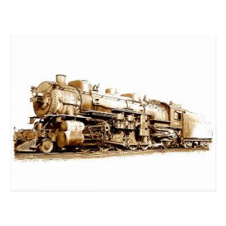 Wabash Train Postcard