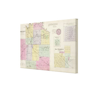 Wabaunsee County, Kansas Stretched Canvas Print