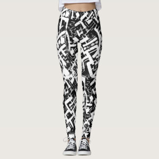WAC Wear Leggings,inspired by the Capricorn Mural Leggings