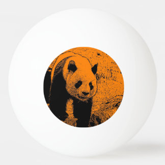 wacky art -panda orange (C) Ping Pong Ball