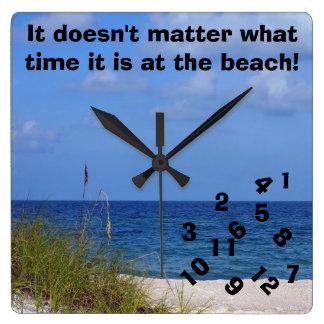Wacky Beach Clock