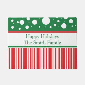Wacky Christmas Doormat
