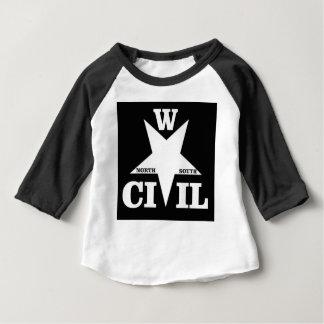 wacky civil war logo baby T-Shirt