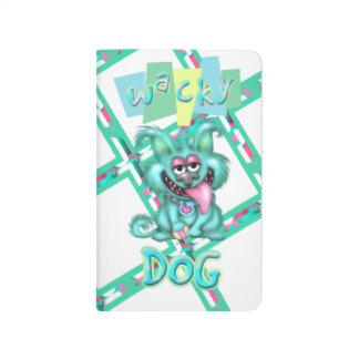 WACKY DOG ALIEN CARTOON Pocket Journal 2