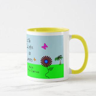 'Wacky Flowers' Mug