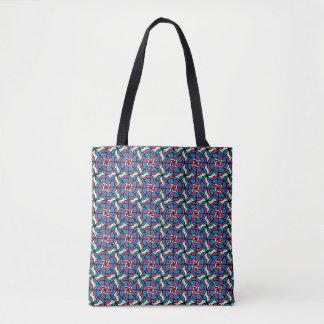 Wacky Geo Tote Bag