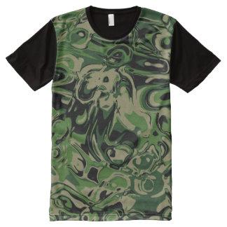 Wacky Green All-Over-Print T-Shirt