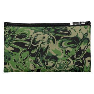 Wacky Green Makeup Bag