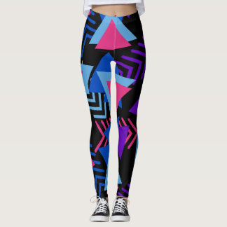 wacky print leggings