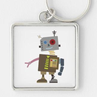Wacky Robot Keychain