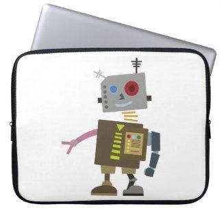 Wacky Robot Laptop Computer Sleeve