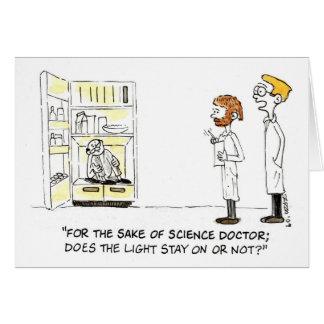 Wacky Scientist (Birthday Card) Card