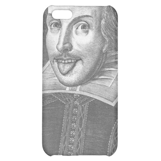 Wacky Shakespeare iPhone 5C Cover