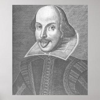 Wacky Shakespeare Poster