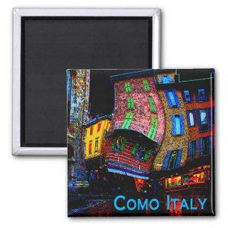 Wacky Travel Gifts - Como Italy Magnet
