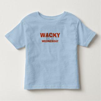 WACKY , WEDNESDAY TODDLER T-SHIRT