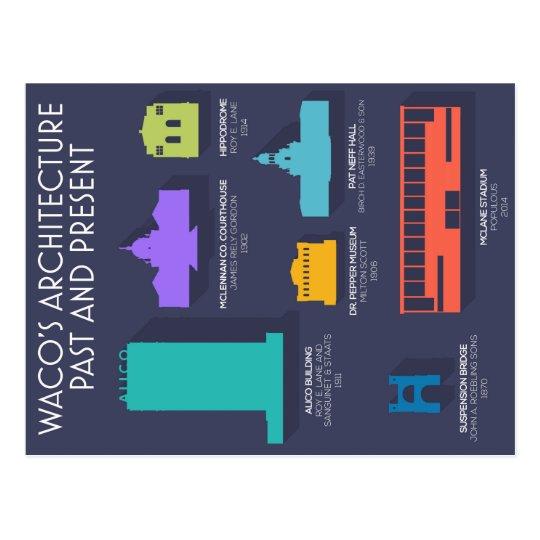 Waco Architecture Postcards