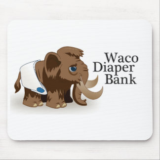 Waco Diaper Bank Mouse Pad