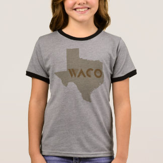 Waco, Texas Ringer T-Shirt