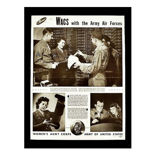 Wacs With The Army Air Forces Post Cards