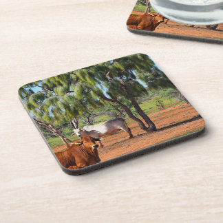 Waddi Trees drink coaster set