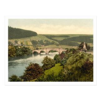 Wade's Bridge, Aberfeldy, Scotland Postcard