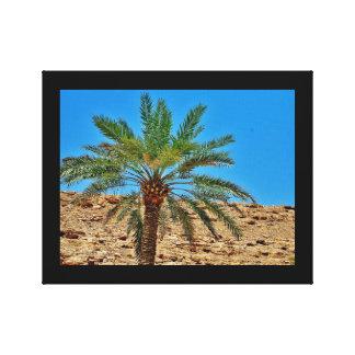 Wadi Namar Date Tree Canvas Print