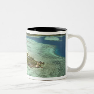 Wadigi Island, Mamanuca Islands, Fiji Two-Tone Coffee Mug