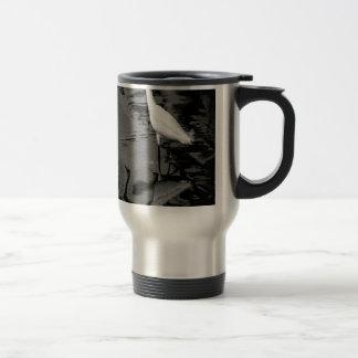 Wading Egret Travel Mug