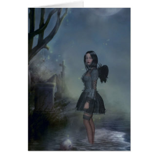 Wading in Misery Card