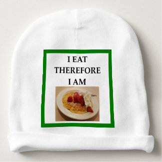 waffle baby beanie