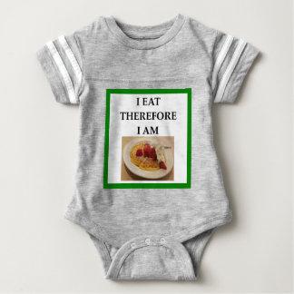 waffle baby bodysuit