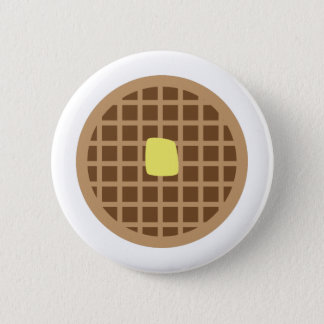 Waffle_Base 2 Inch Round Button
