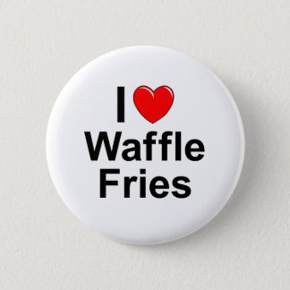 Waffle Fries 2 Inch Round Button