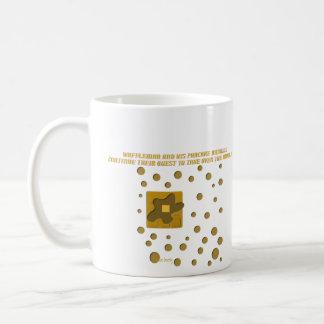 waffle man and his pancake minions classic white coffee mug
