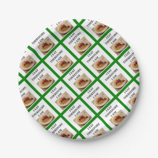 waffle paper plate
