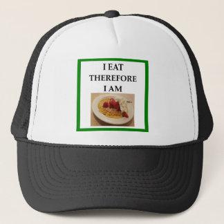 waffle trucker hat
