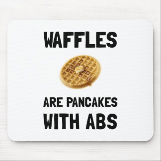 Waffles Abs Mouse Pad
