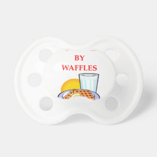 WAFFLES PACIFIER