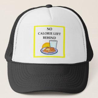 waffles trucker hat