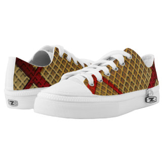 Waffles ZIPZ Low-Top Sneakers