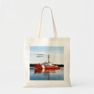 WAGB 83 Mackinaw red tote bag