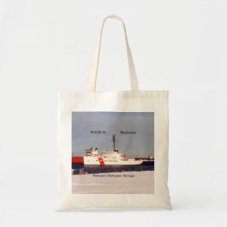 WAGB 83 Mackinaw white tote bag