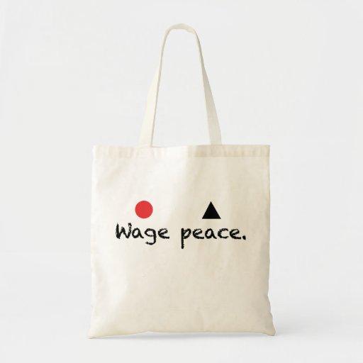 Wage Peace Bag