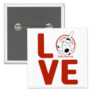 Waggin' Tails LOVE button