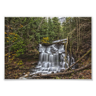 Wagner Falls, Michigan Photo Print