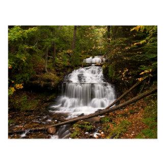Wagner Falls Postcard