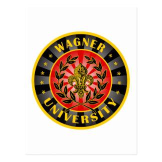 Wagner University German Postcard