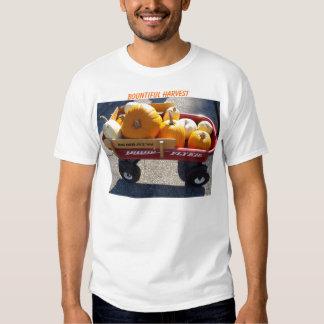Wagon Full Of Pumpkins, Bountiful Harvest Tee Shirts